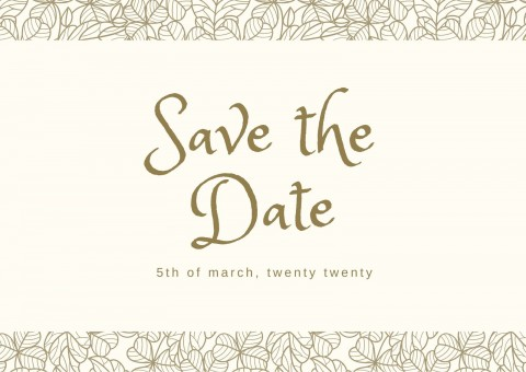 002 Striking Save The Date Postcard Template High Definition  Diy Free Birthday480