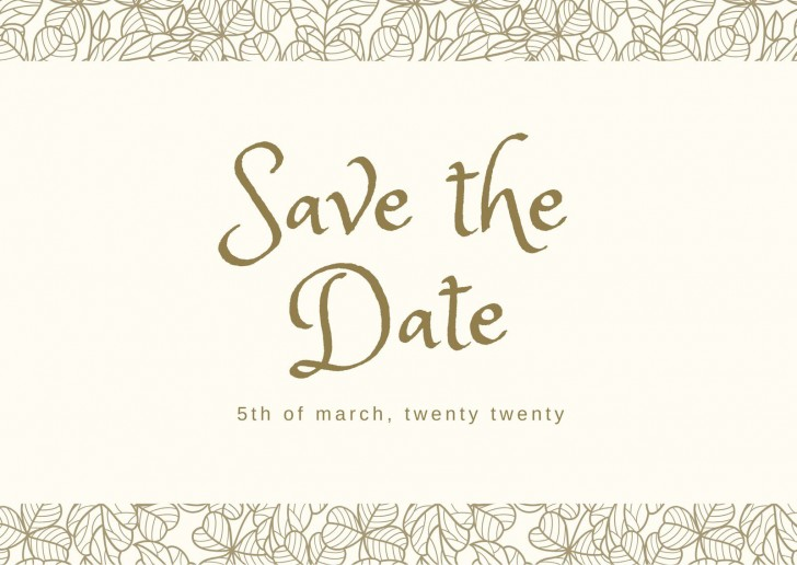 002 Striking Save The Date Postcard Template High Definition  Diy Free Birthday728