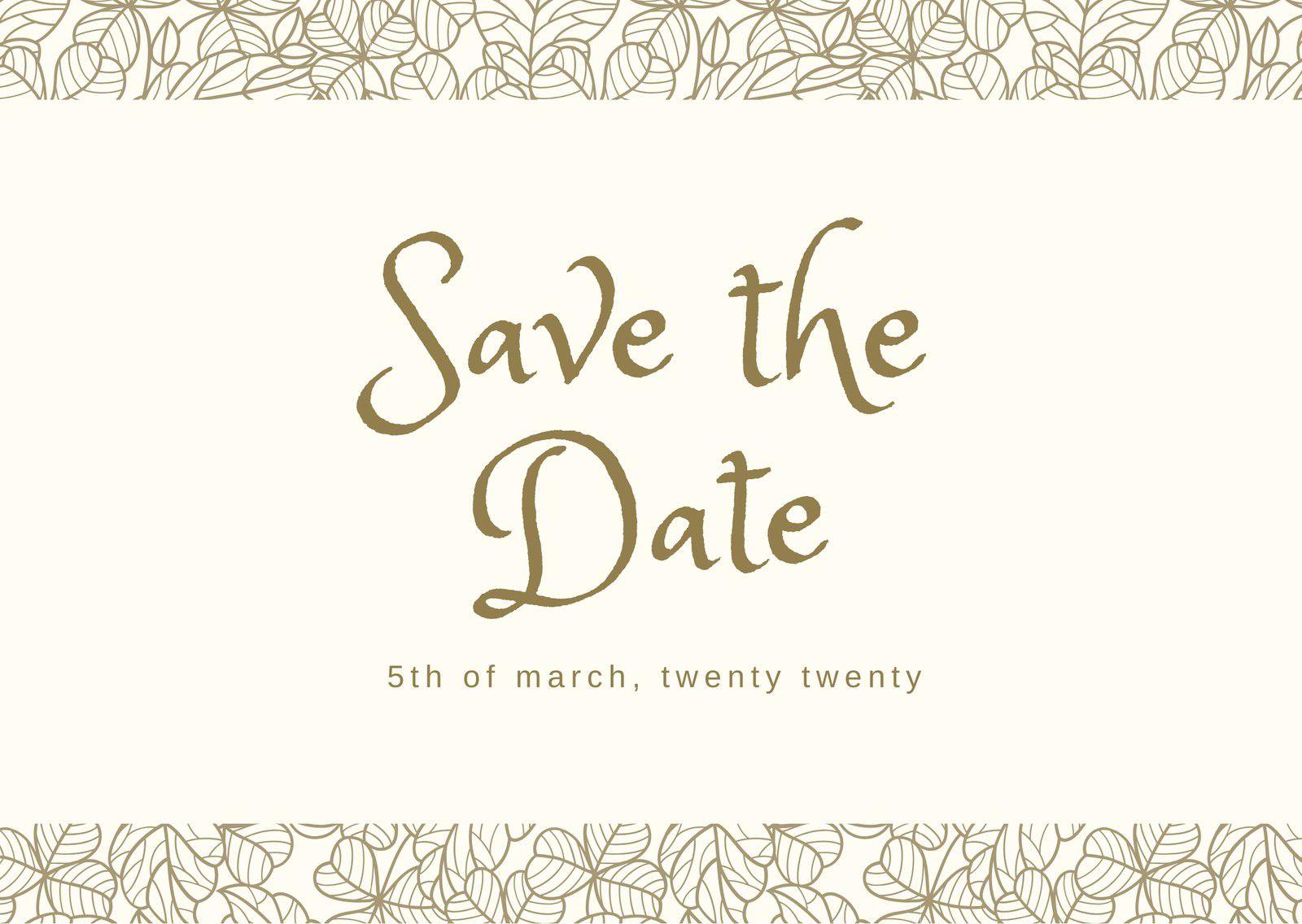 002 Striking Save The Date Postcard Template High Definition  Diy Free BirthdayFull