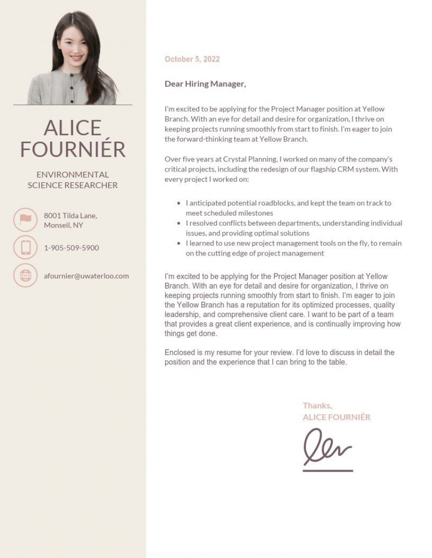 002 Striking Simple Cover Letter Template Word Design