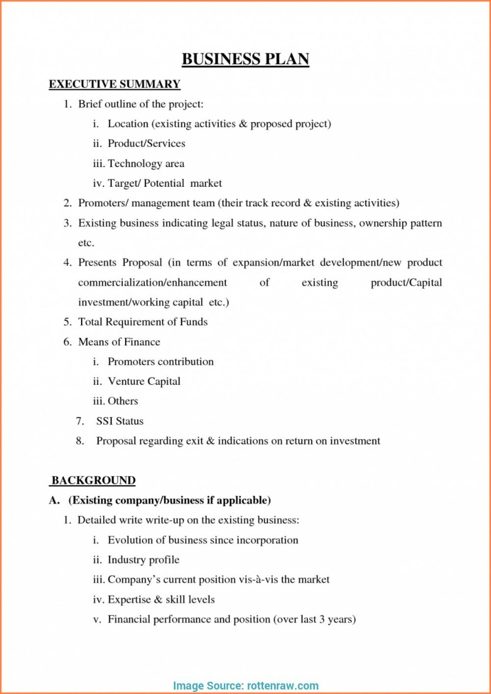 002 Striking Small Busines Plan Template Free Sample  Printable South Africa SimpleFull