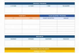 002 Striking Strategic Planning Template Free Example  Account Plan Ppt