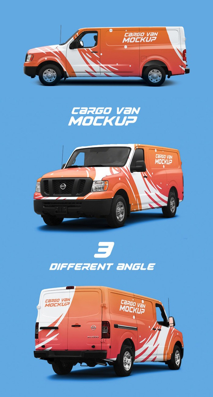 002 Striking Vehicle Wrap Template Free Download Highest Quality  Downloads CarFull