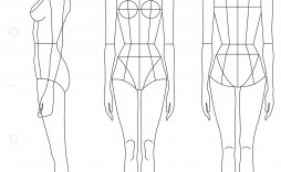 002 Stunning Body Template For Fashion Design Highest Quality  Female Male Human