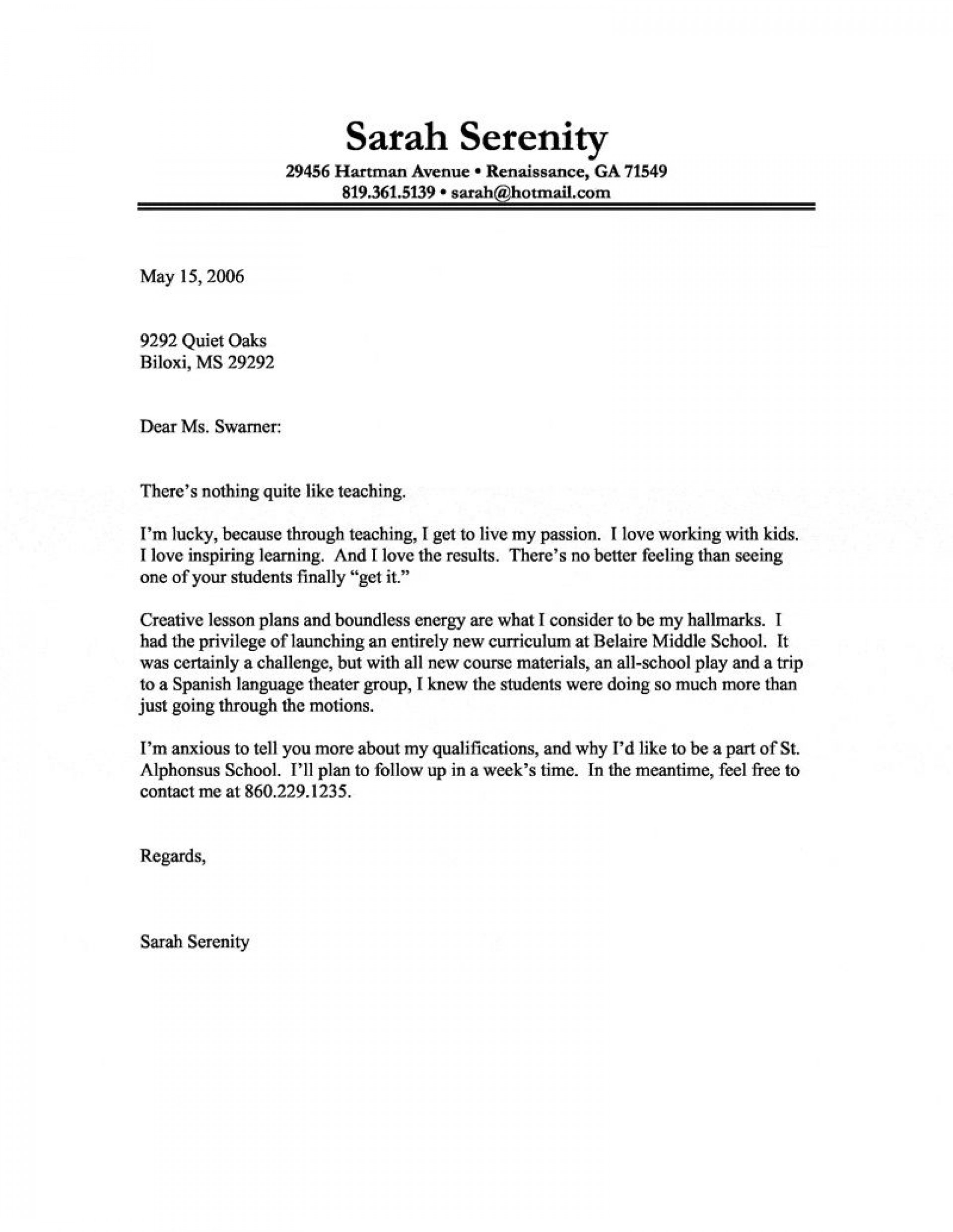 Cover Letter No Contact from www.addictionary.org