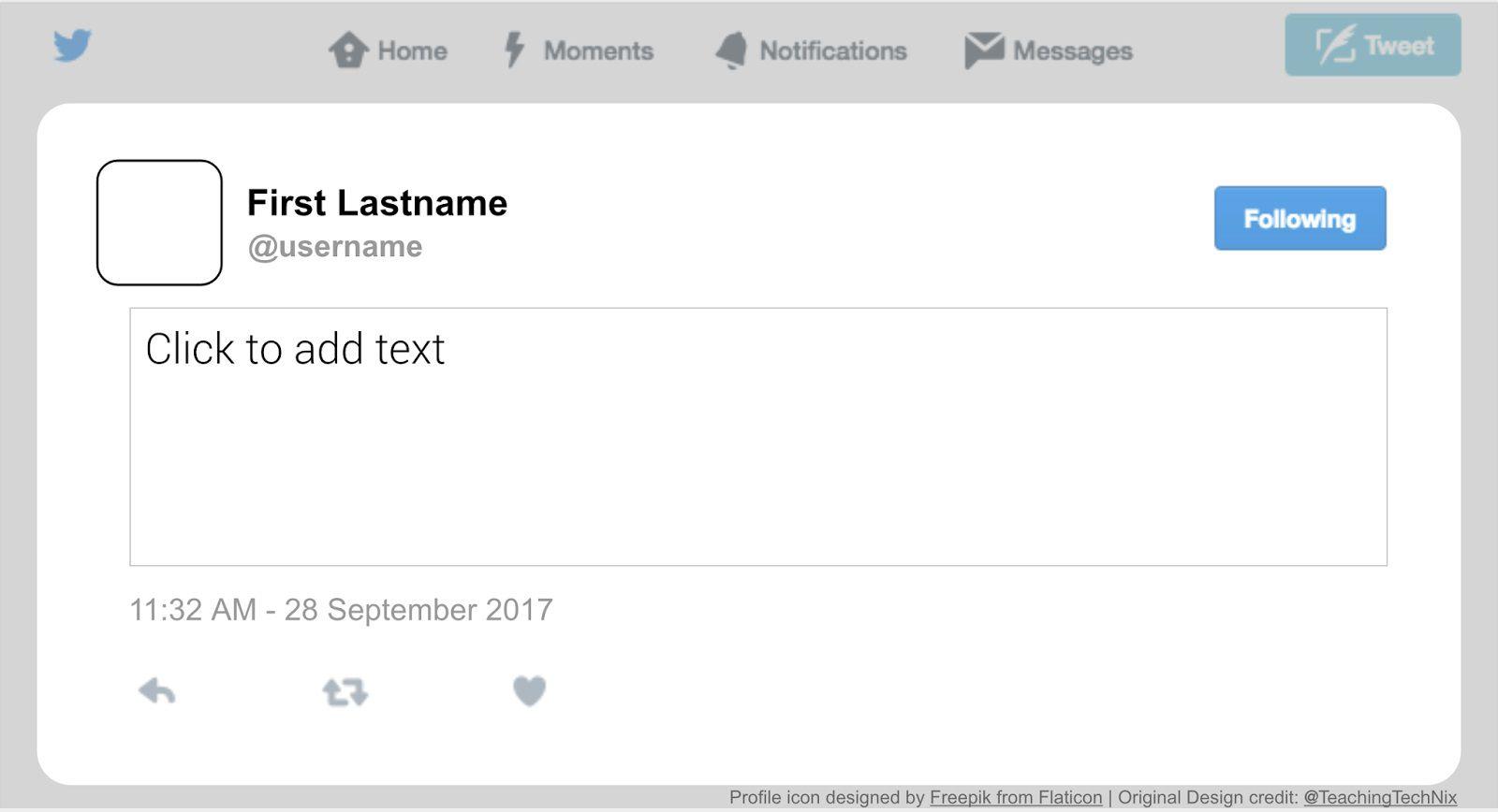 002 Stunning Fake Social Media Template High Definition  Templates PostFull