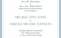 002 Stunning Formal Wedding Invitation Template High Resolution  Templates Email Format Wording Free