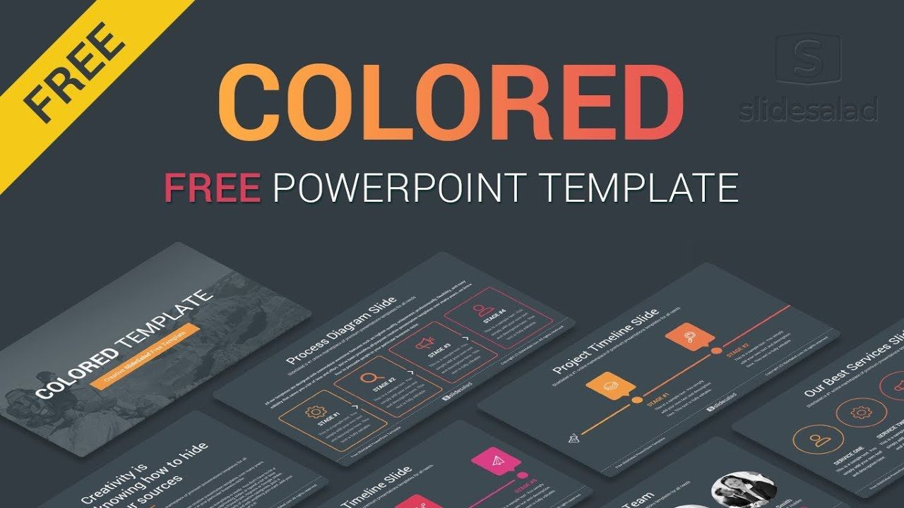 002 Stunning Free Downloadable Ppt Template Sample  Templates For College Project Presentation Download Animated MedicalFull
