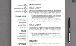 002 Stunning Free Printable Creative Resume Template Microsoft Word Inspiration