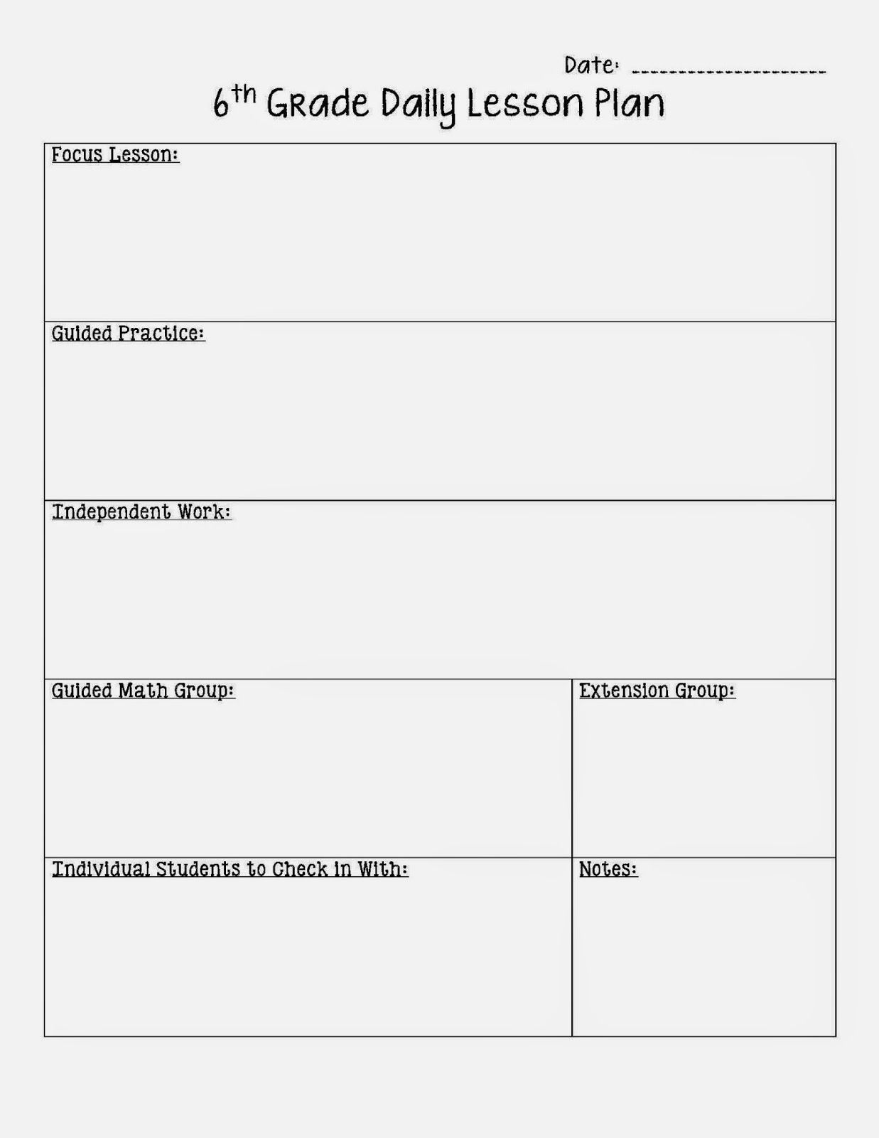 002 Stunning Free Printable Lesson Plan Template For High School Photo Full