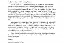 002 Stunning Fund Raising Letter Template Design  Fundraising For Mission Trip School Sample Of A Nonprofit Organization