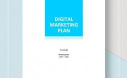 002 Stunning Marketing Plan Template Word Free Download Example