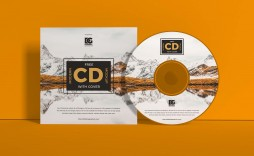 002 Stunning Music Cd Cover Design Template Free Download Example