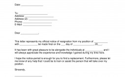 002 Stunning Resignation Letter Template Word Concept  Malaysia Uk