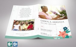 002 Stunning Template For Funeral Program Publisher High Definition
