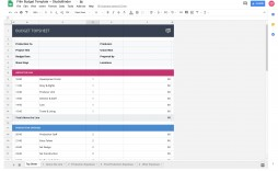 002 Stunning Video Production Budget Template High Definition  Example Excel Sample