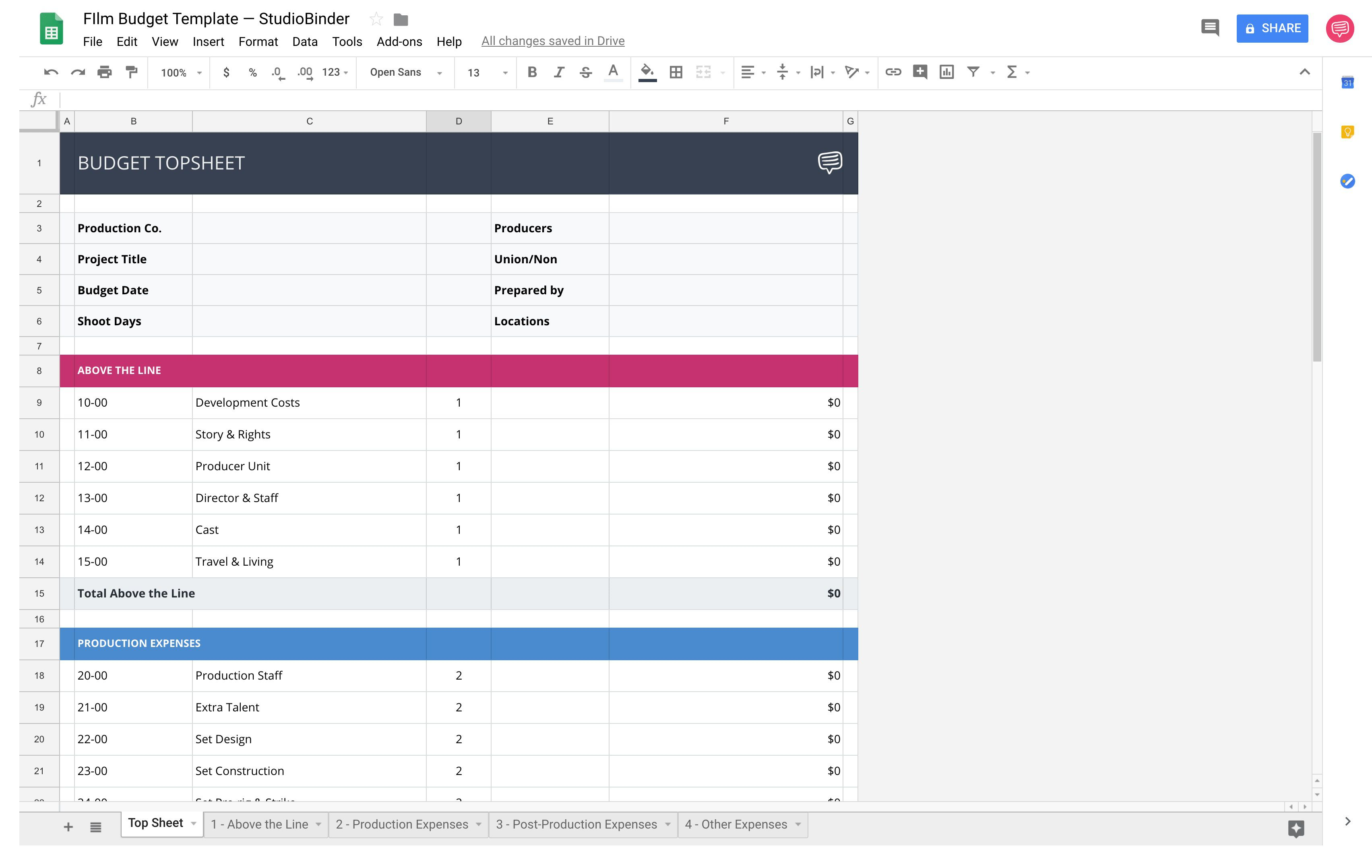 002 Stunning Video Production Budget Template High Definition  Example Excel SampleFull