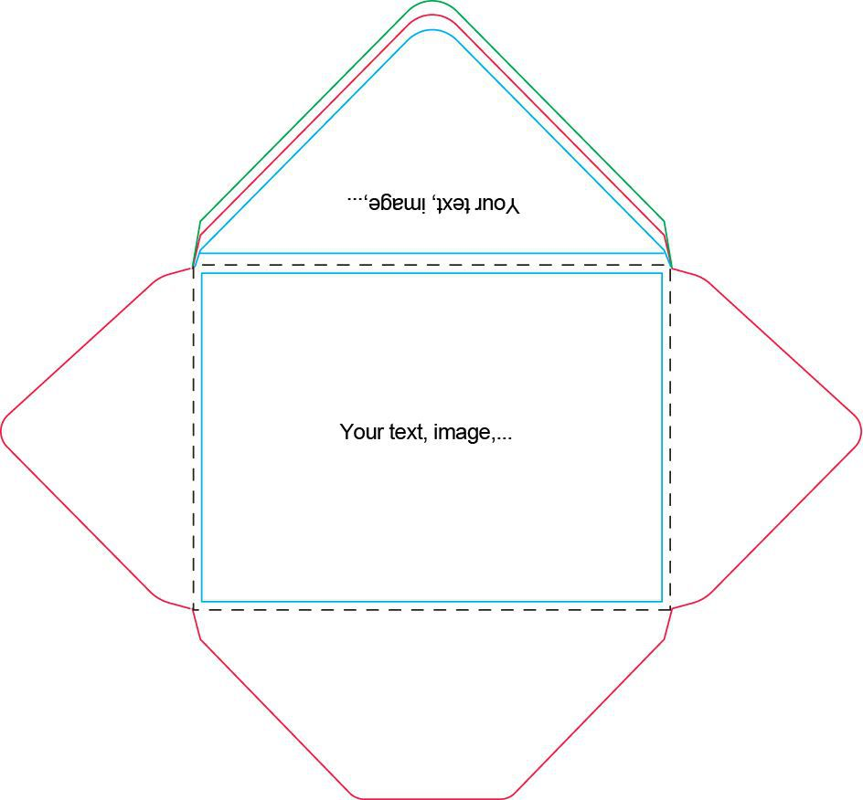 002 Stupendou A7 Envelope Liner Template Free Design Full