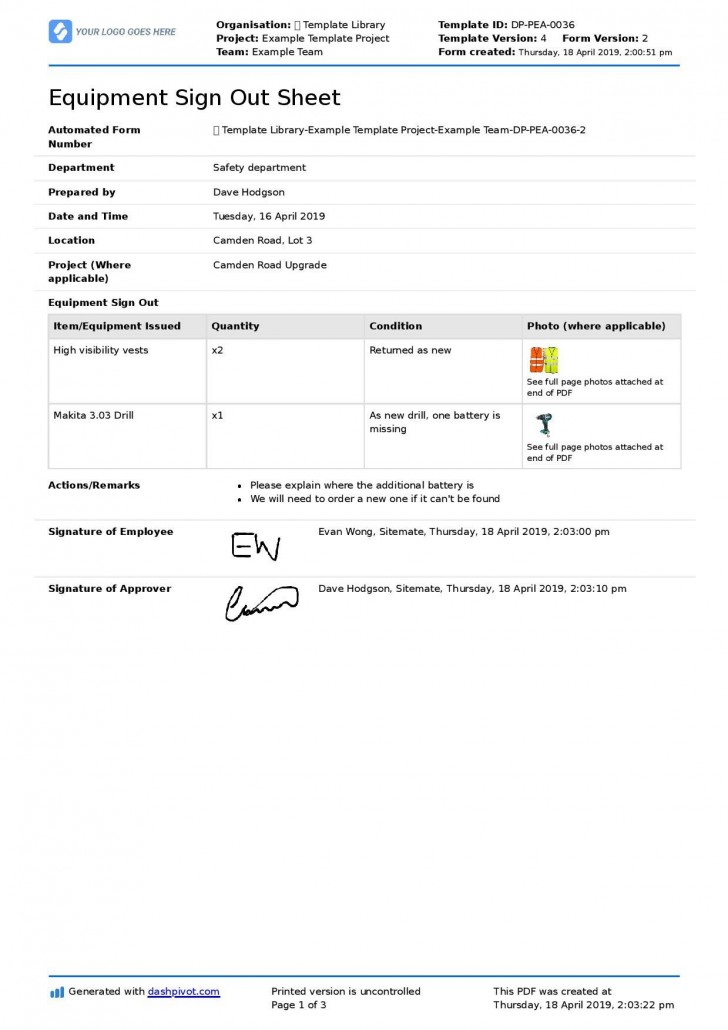 002 Stupendou Employee Sign In Sheet Template Image  Out Excel Word Free Training728