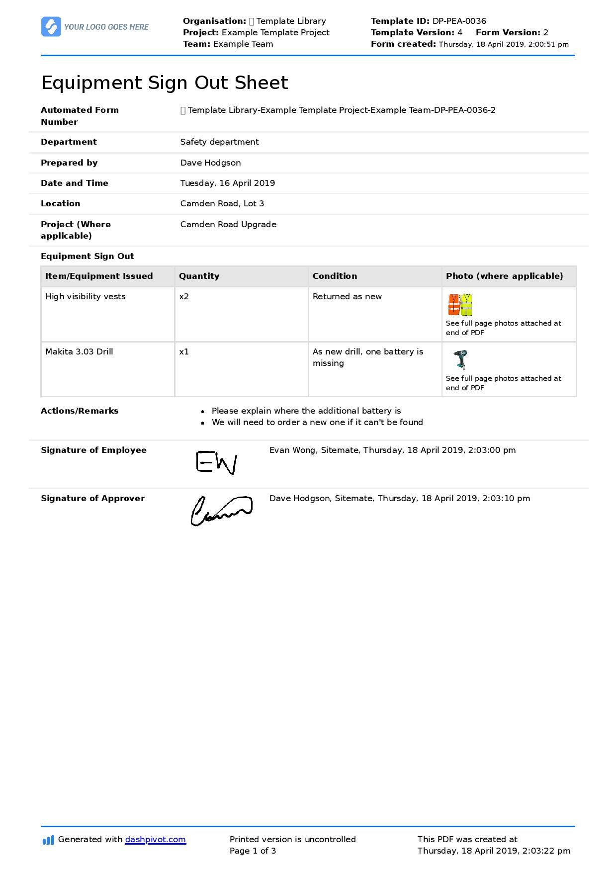 002 Stupendou Employee Sign In Sheet Template Image  Out Excel Word Free Training