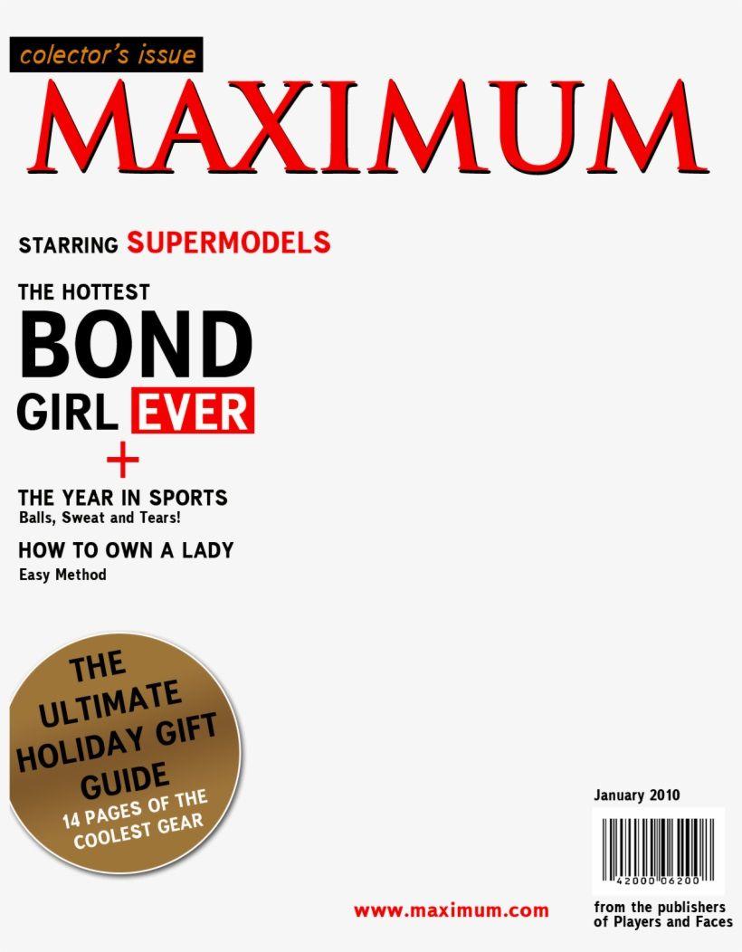 002 Stupendou Fake Magazine Cover Template Photoshop Inspiration  TimeFull