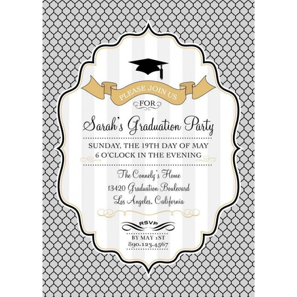 002 Stupendou Free Graduation Announcement Template Concept  Invitation Microsoft Word Printable KindergartenLarge