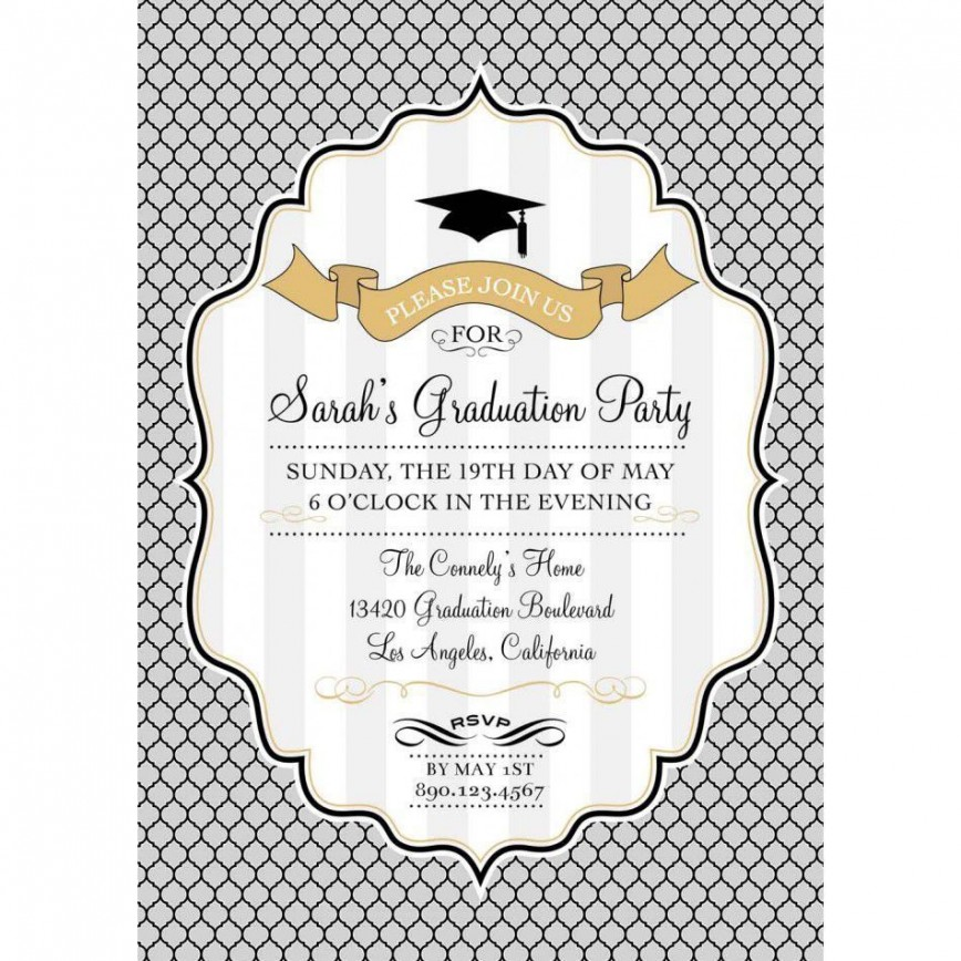 002 Stupendou Free Graduation Announcement Template Concept  Invitation Microsoft Word Printable Kindergarten868