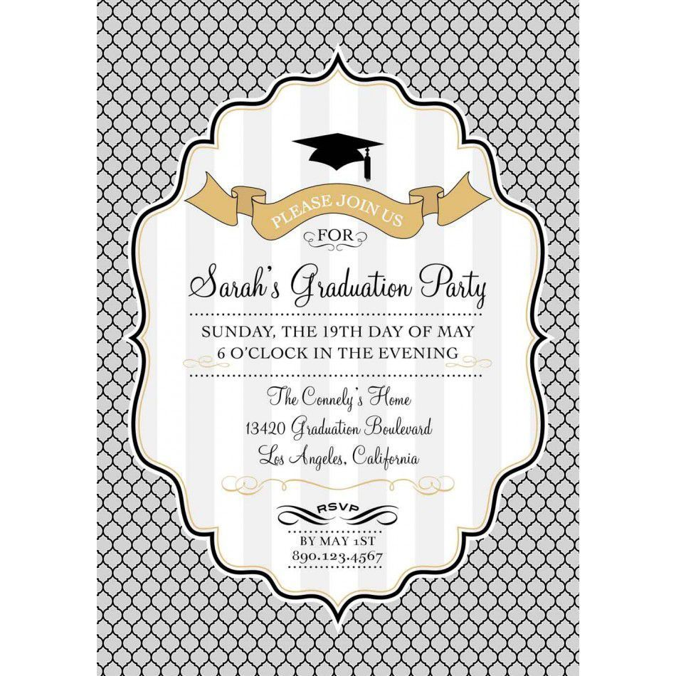 002 Stupendou Free Graduation Announcement Template Concept  Invitation Microsoft Word Printable KindergartenFull