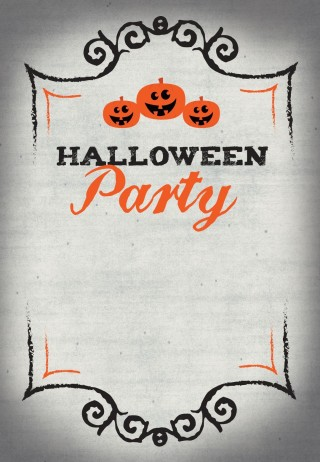 002 Stupendou Free Halloween Party Invitation Template Photo  Printable Birthday For Word Download320