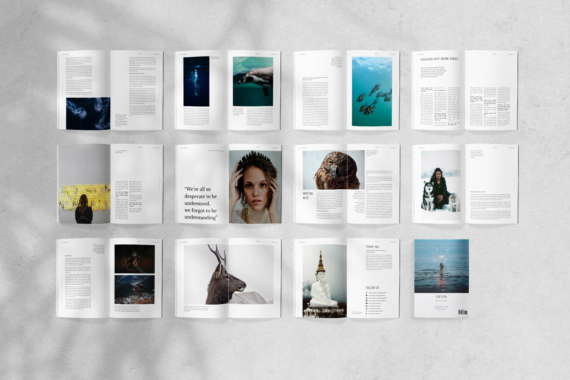 002 Stupendou Free Magazine Layout Template Highest Quality  Templates For Word Microsoft PowerpointFull