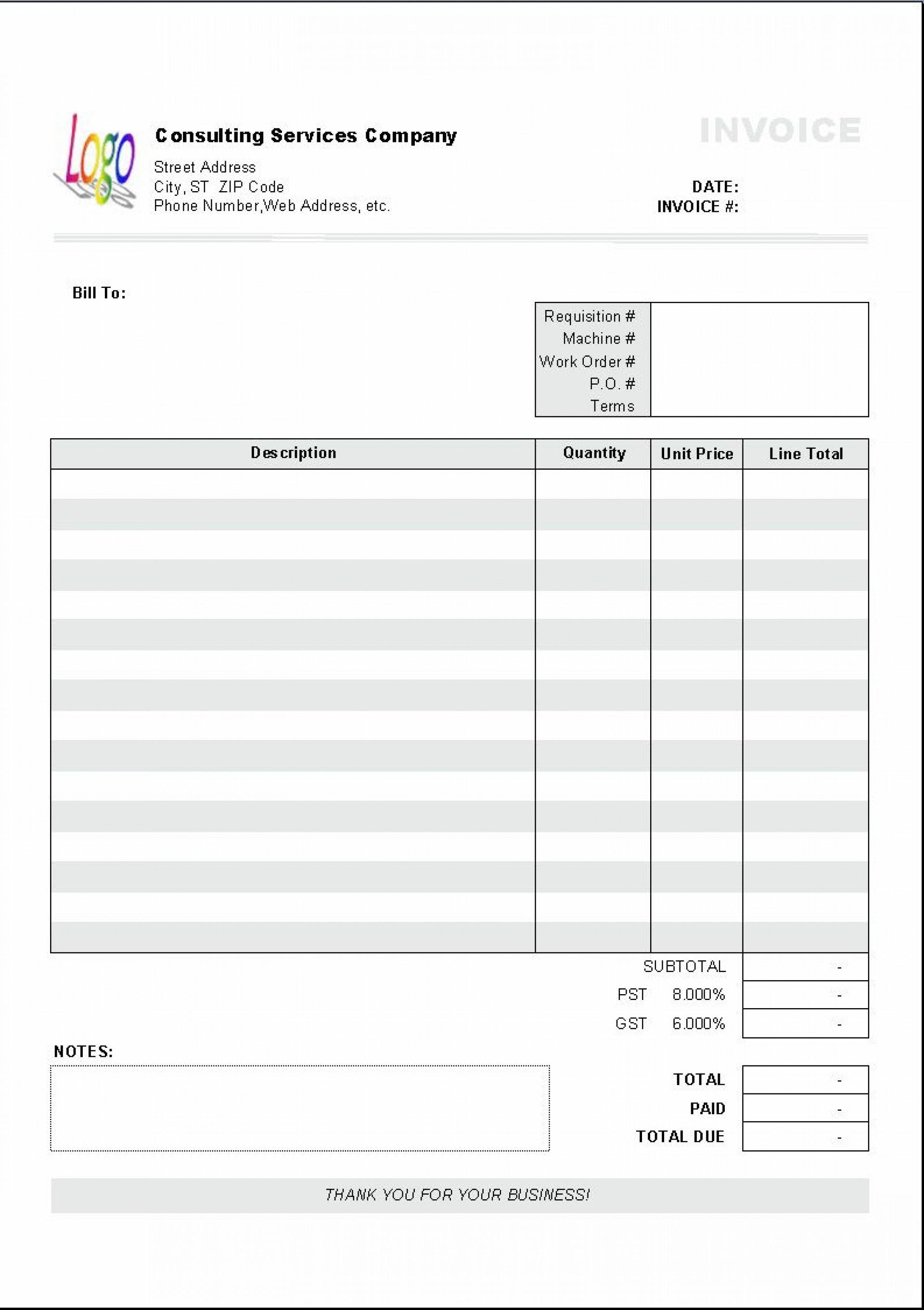 002 Stupendou Free Printable Tax Invoice Template Australia High Definition 1920