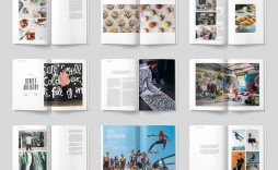 002 Stupendou Magazine Layout Template Free Download Word Photo