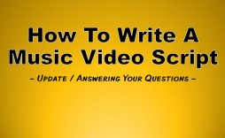 002 Stupendou Music Video Script Template Example  Google Doc Free