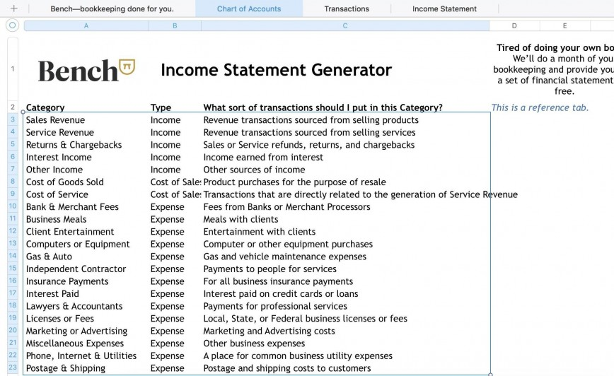 002 Stupendou Projected Income Statement Excel Format Idea