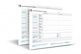 002 Stupendou Social Media Plan Template Highest Clarity  Free Download Ppt Marketing Excel