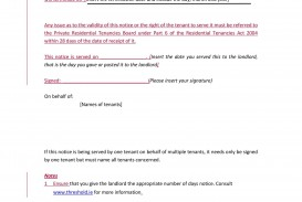 002 Stupendou Template Letter To Terminate Rental Agreement Sample  End Tenancy For Landlord Ending