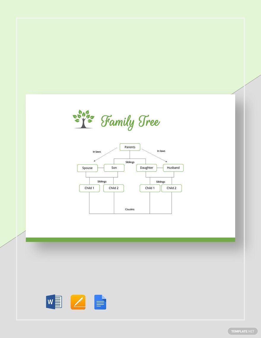 002 Surprising Family Tree Template Google Doc Image  Docs I There A On Free EditableFull