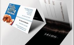 002 Surprising Folding Busines Card Template Design  Folded Photoshop Ai Free