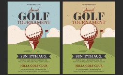 002 Surprising Free Charity Golf Tournament Flyer Template Example