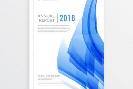 002 Surprising Free Download Annual Report Cover Design Template Photo  Indesign In Word