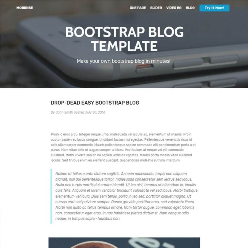 002 Surprising Free Download Responsive Html Template With Slider Example