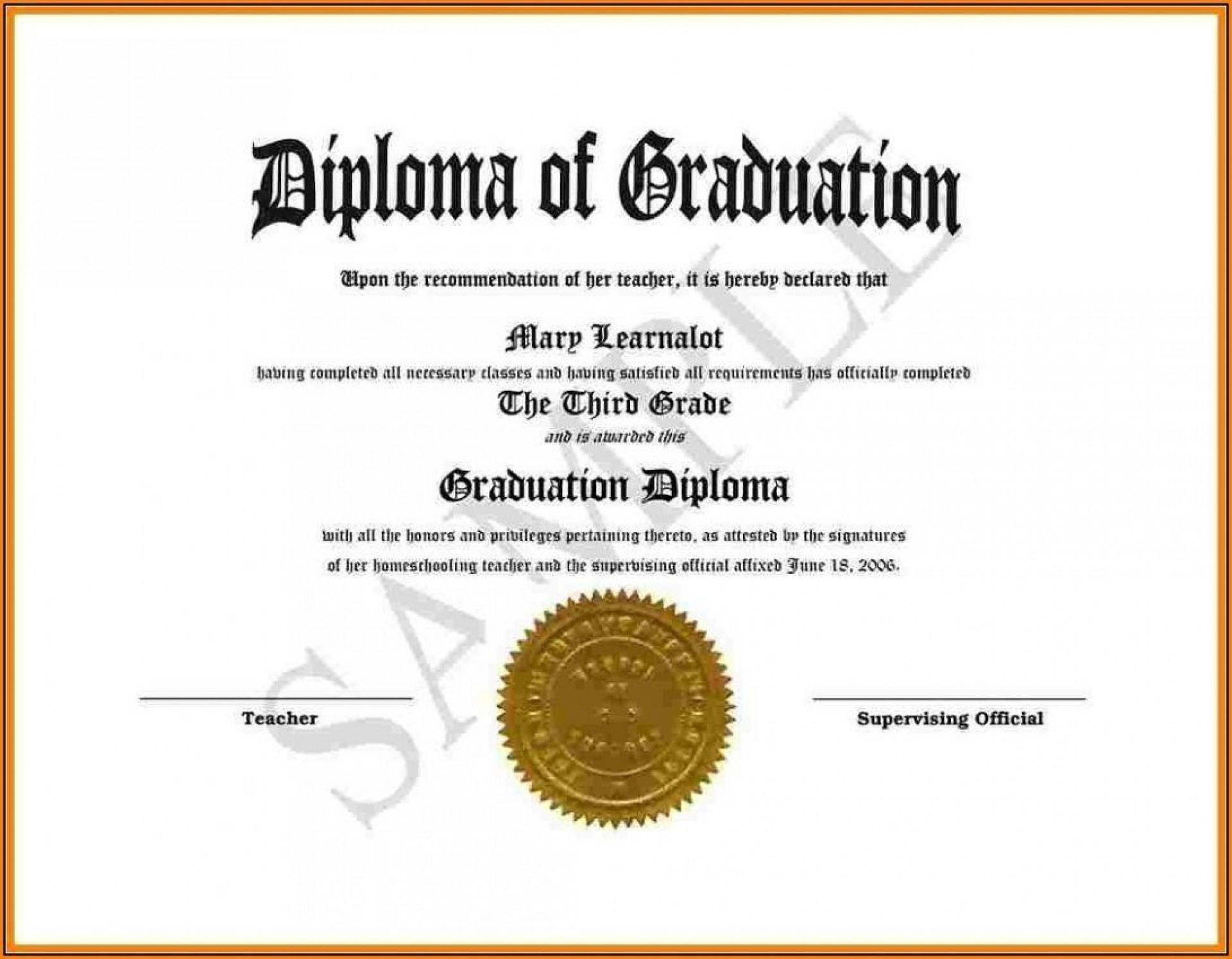 002 Surprising Free Editable High School Diploma Template Picture  Templates Printable With Seal Fillable1920