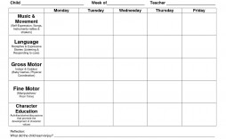 002 Surprising Free Printable Lesson Plan Template Idea  Preschool Weekly For Kindergarten