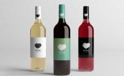 002 Surprising Free Wine Bottle Label Template Highest Clarity  Mini Printable
