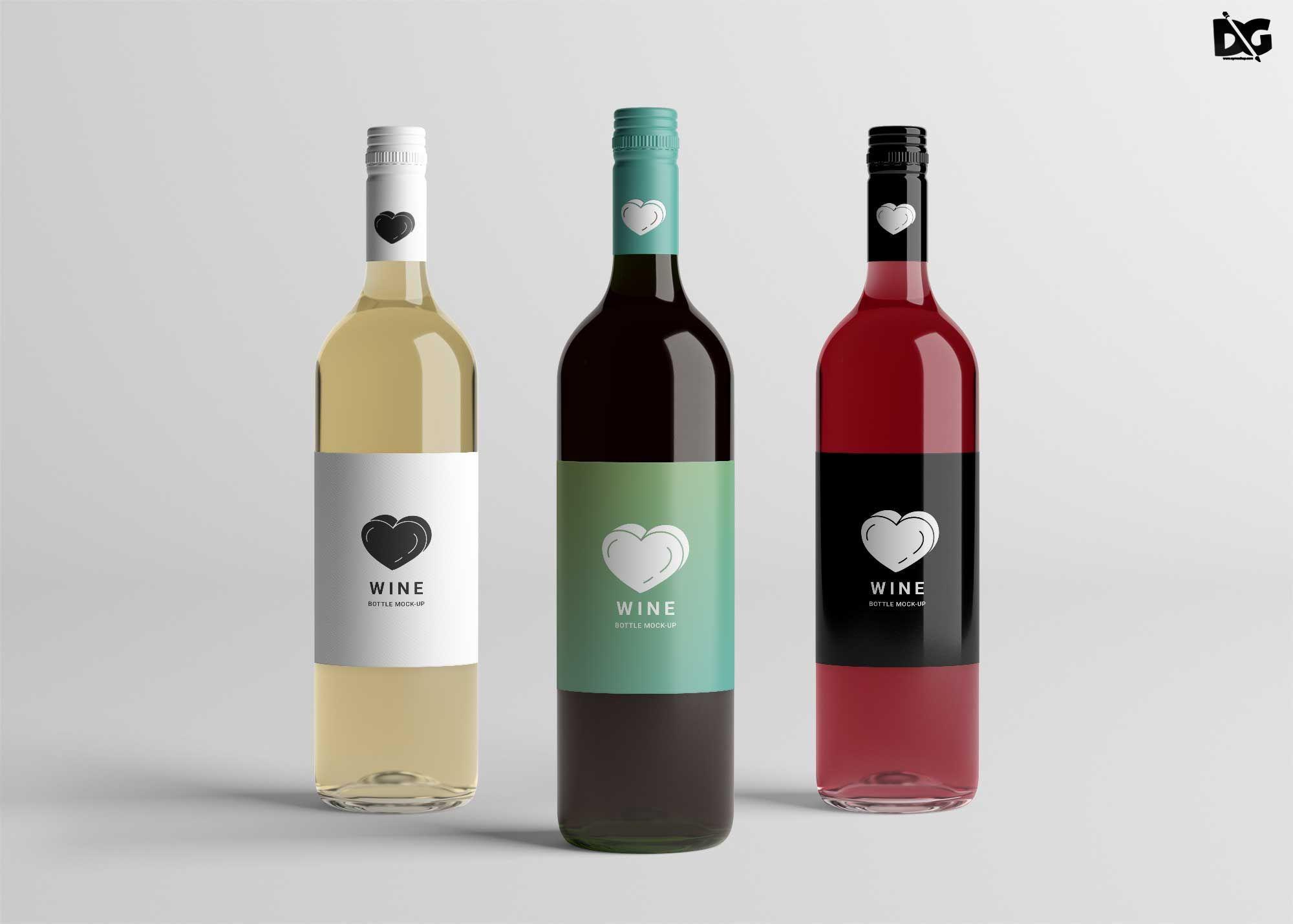 002 Surprising Free Wine Bottle Label Template Highest Clarity  Mini PrintableFull