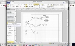 002 Surprising Microsoft Word Use Case Diagram Template Picture
