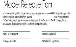 002 Surprising Model Release Form Template Picture  Photography Uk Gdpr Australia