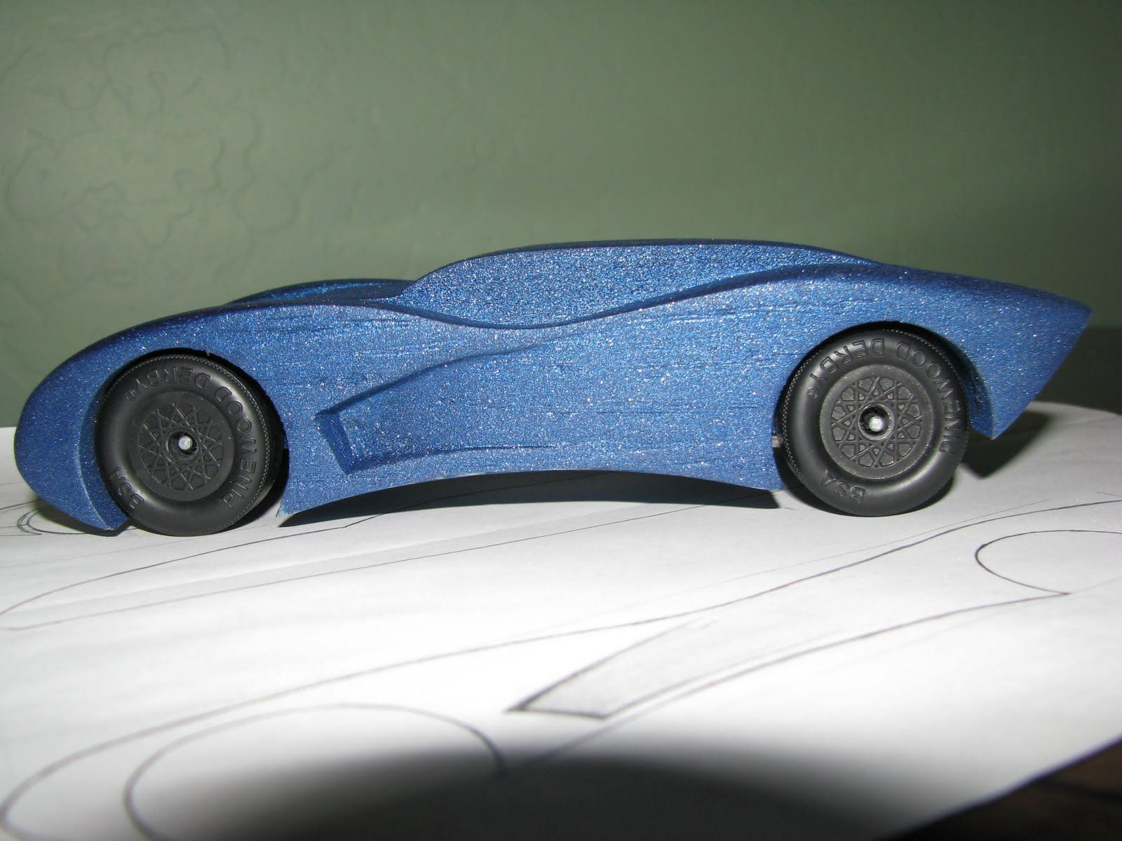 002 Surprising Pinewood Derby Car Design Template Photo  Fast WedgeFull