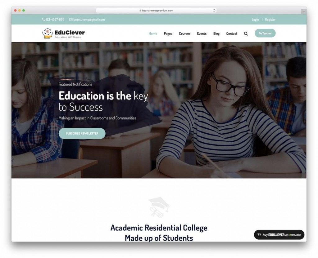 002 Surprising School Website Html Template Free Download Sample  Responsive With Cs JqueryLarge