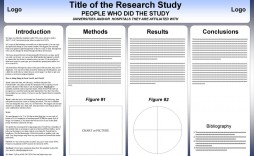 002 Surprising Scientific Poster Template Free Download Example  A1 Creative